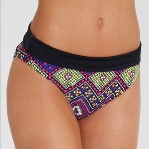 Freya Purple Byzantine Mosaic Print Bikini Bottoms